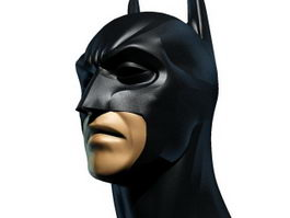Batman head 3d preview