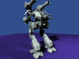 Robokill Trainer 3d model preview