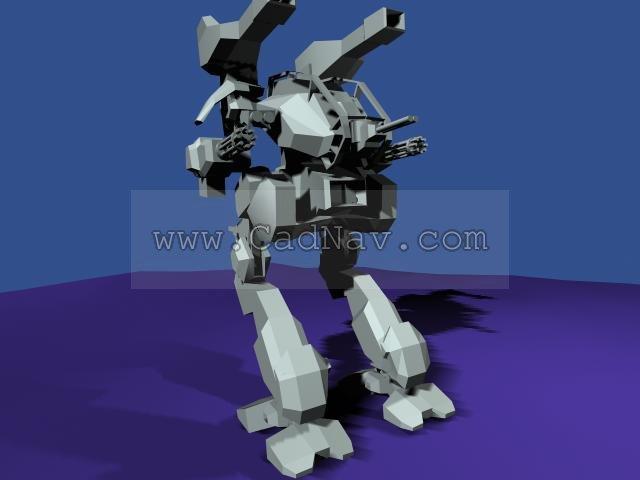 Robokill Trainer 3d rendering