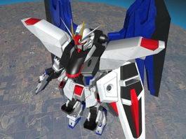 GUNDAM ROBOT 3d preview