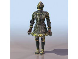 Ferdinand Armor 3d model preview