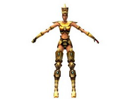 Egypt Female 3d preview
