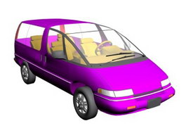 Chevy Lumina 3d model preview
