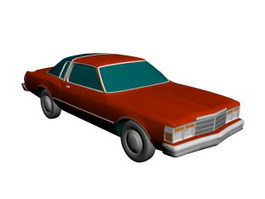 Ford Coupe 3d model preview