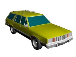 Ford Fairmont 3d preview