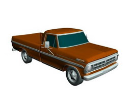 Ford Pickup 3d model preview