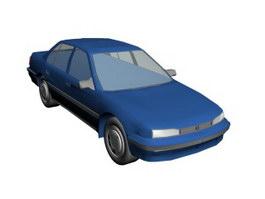 Honda Civic 3d model preview