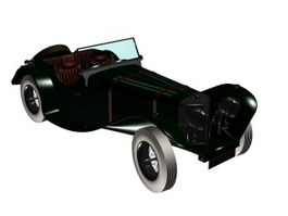 Jaguar 1930 3d preview