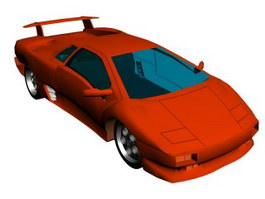 Lamborghini Diablo 3d preview