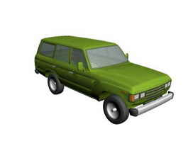 Toyota LandCruiser 3d preview