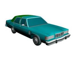 Mercury Grand Marquis 3d model preview