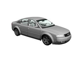 Audi A6 3d model preview