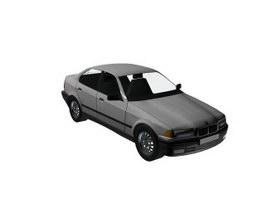 BMW 325i 3d model preview