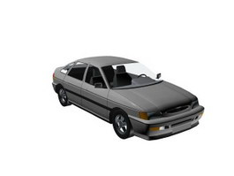 Ford Escort 3d model preview