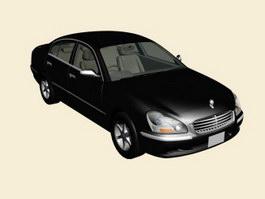 Nissan Cima 3d model preview