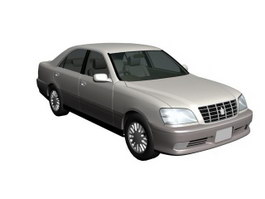 Toyota Crown 3d preview