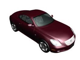 Toyota Soarer 3d model preview