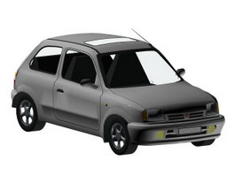Nissan Micra 3d preview