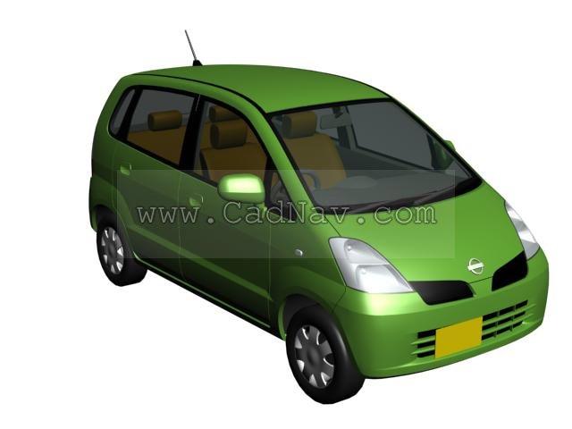 Nissan Moco 3d rendering