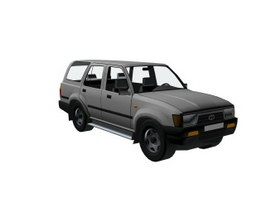 TOYOTA 4RUNNER Fourth generation 3d model preview