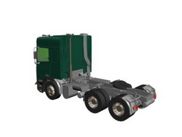 Leyland tractor 3d preview