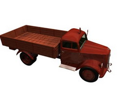 Opel blitz German WWII truck 3d model preview