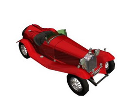 ALFA ROMEO 2300 SPIDER TOURING 3d model preview