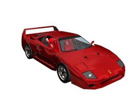 Ferrari F40 LM 3d preview