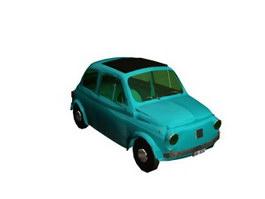 FIAT Autos 3d model preview