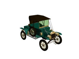 FORD T12 3d model preview