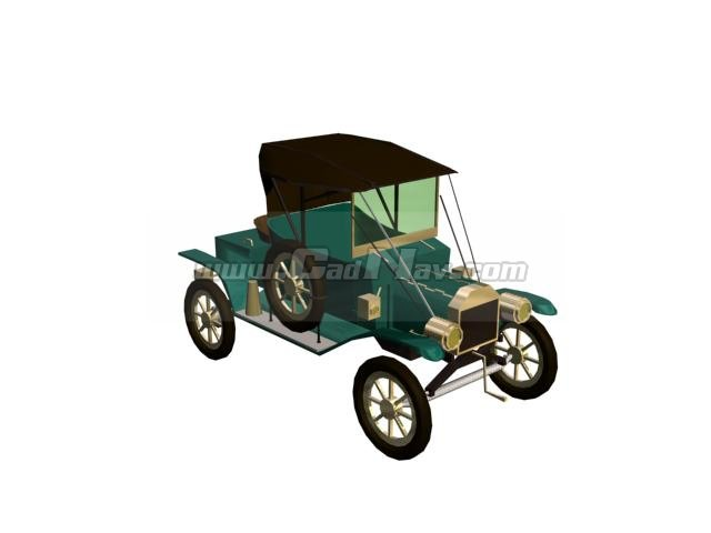 FORD T12 3d rendering