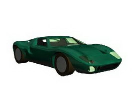 Ford GT40 3d model preview