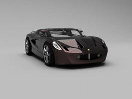 Lotus Europa S2 3d model preview