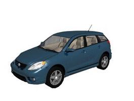 Toyota Corolla Matrix 3d model preview