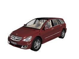 Mercedes-Benz R-Class Large MPV 3d preview