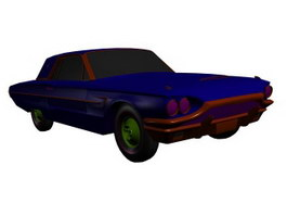 1964 Ford Thunderbird 3d preview