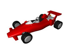 F1 racing car 3d preview