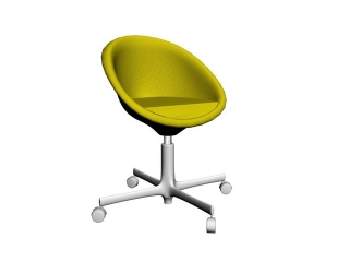 Vitra Verner Panton Chair 3d model preview