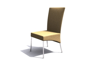 Musterring Dining Chair 3d model preview