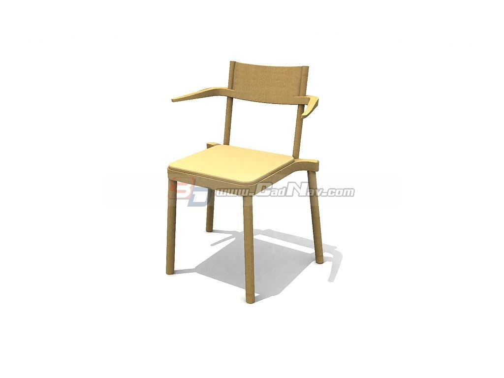 Dining Y-Chair 3d rendering