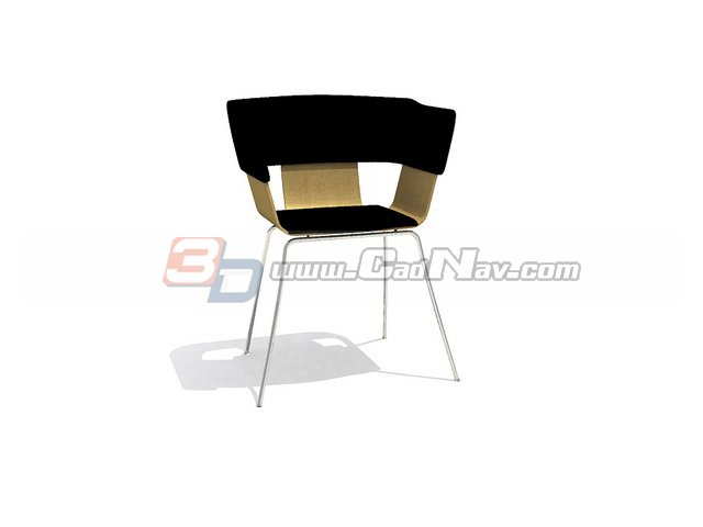 Conference armchair 3d rendering