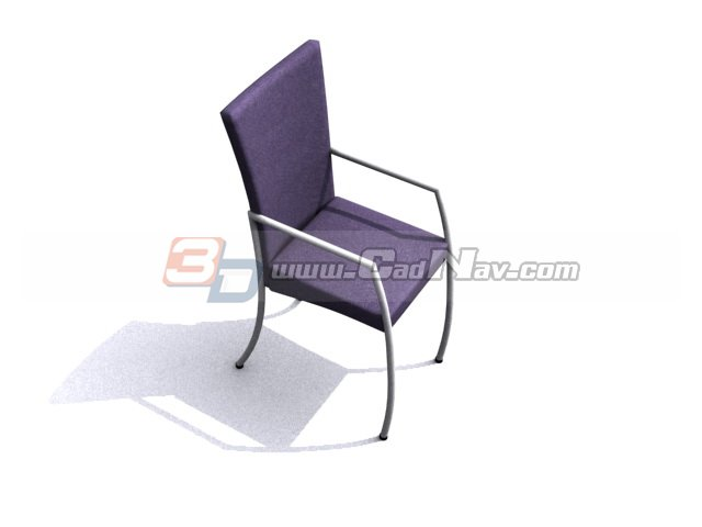 Office conference chair 3d rendering