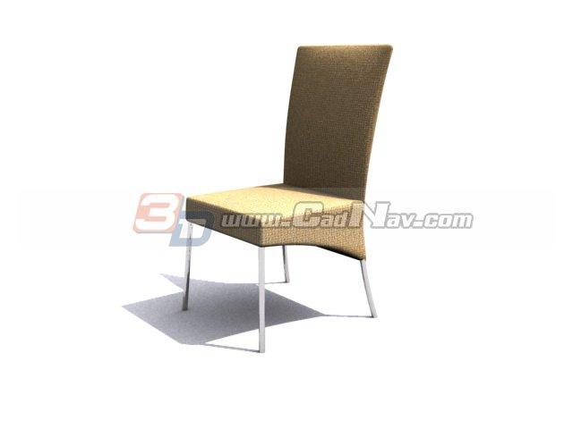 Office Meeting chair 3d rendering