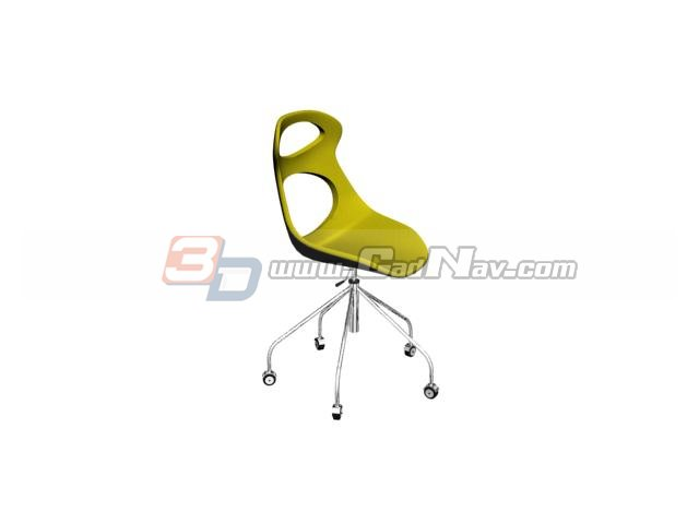 Egg Bar chair 3d rendering
