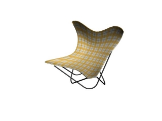 Children Butterfly chair 3d preview