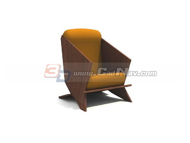 Cinema sofa chair 3d rendering