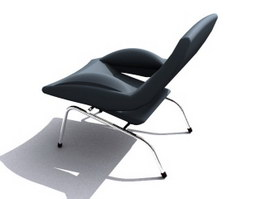 Office Lounge Chair 3d model preview