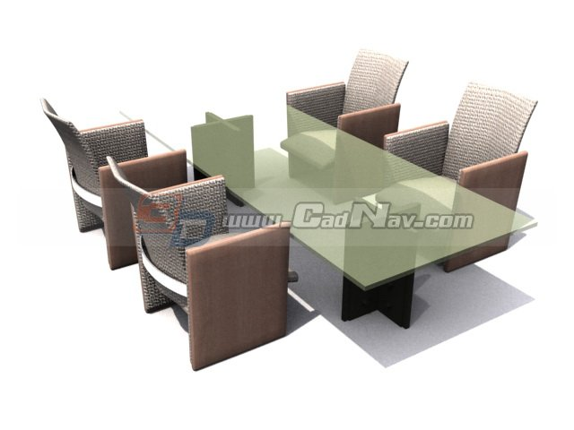 Dining Room Sets 3d rendering