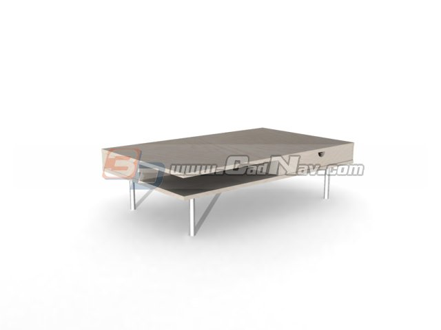SOFA TEA TABLE 3d rendering