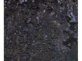 Black rusted metal texture